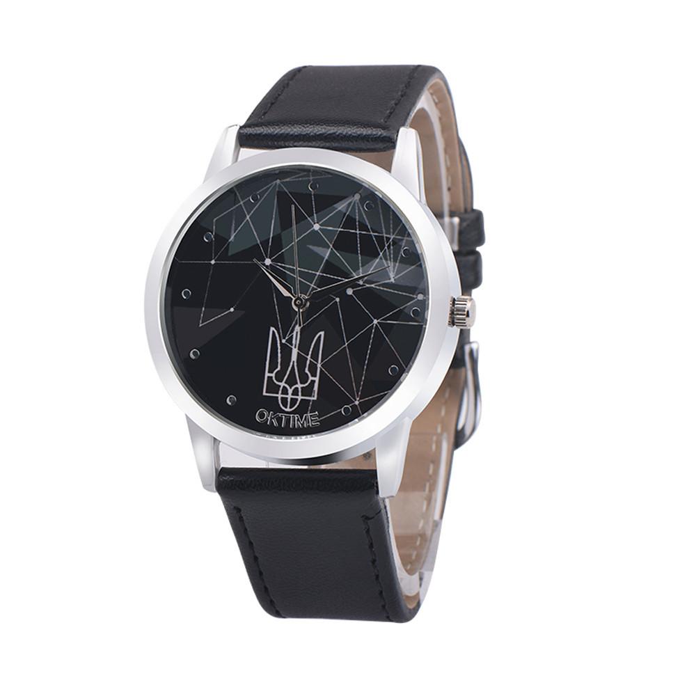 Годинники чоловічі наручні OkTime black (чорний)