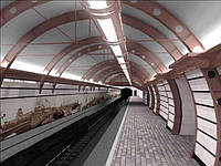 Нормы освещения автотранспортных тоннелей, имеющих одну стену с открытыми проемами