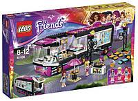 Конструктор Лего Lego Friends Автобусное турне поп-звезды 41106