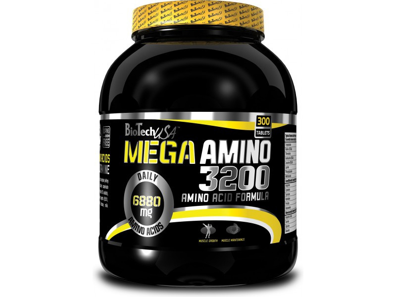 Аминокислота Mega Amino BioTech 3200 500 таб