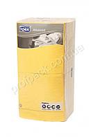 Салфетка 33х33см, 3-х слойная жёлтая, Tork Advanced, 250 шт/уп
