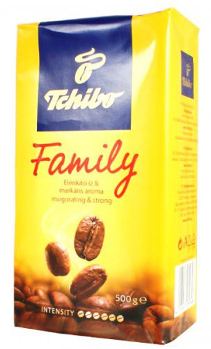 Мелена кава Tchibo Family 500гр. Німеччина