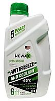 Антифриз Nowax G11 -40°C зеленый, 1л