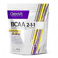 Аминокислота ВСАА Ostrovit Extra Pure 2:1:1 500g