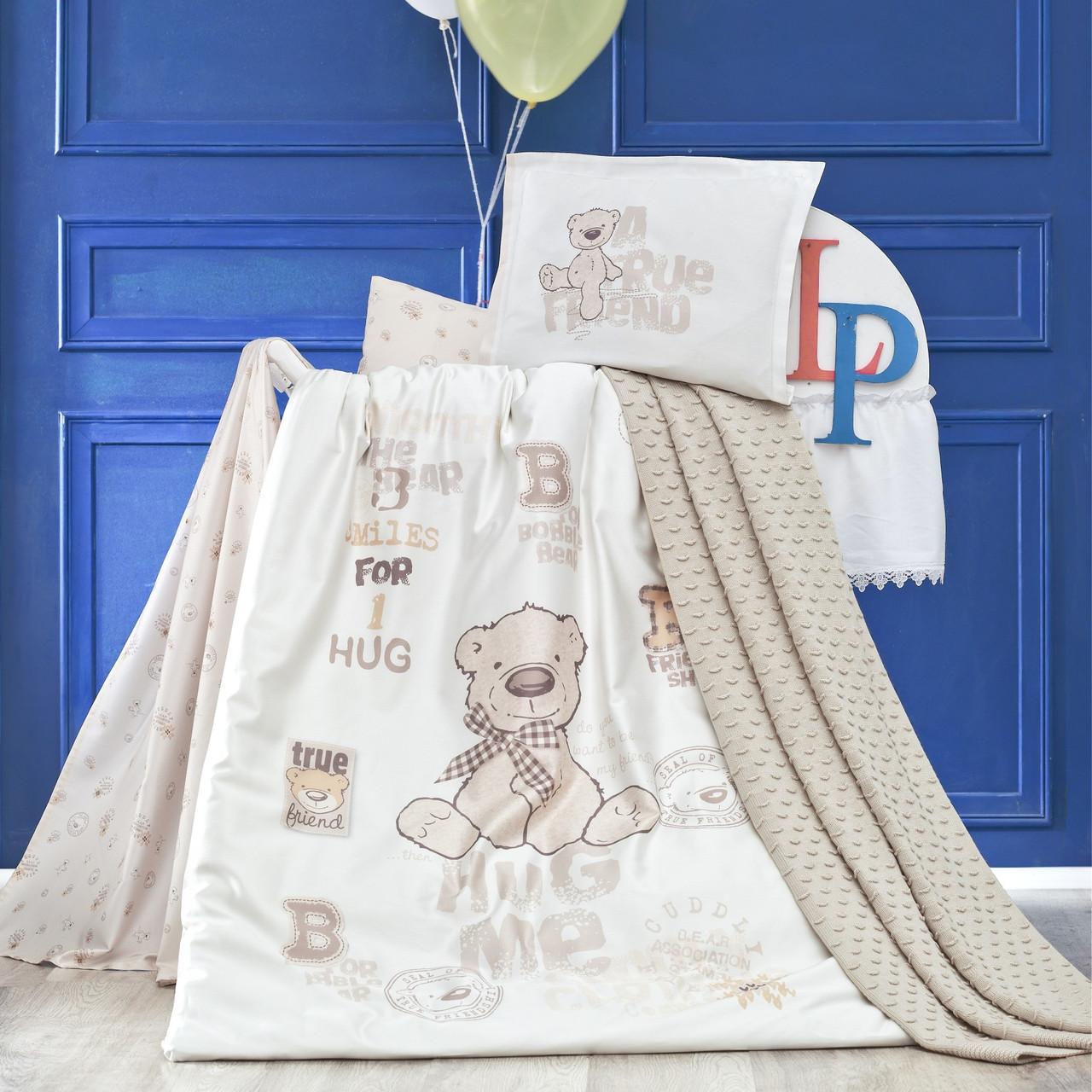 Комплект детского постельного белья с пледом Benard, Luoca Patisca