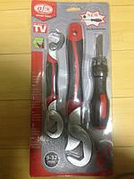 Универсальный ключ Snap n Grip + отвертка с насадками, для ремонта Снеп энд Грип