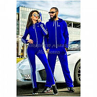 Спортивный костюм для девушек и мужчин электрик
