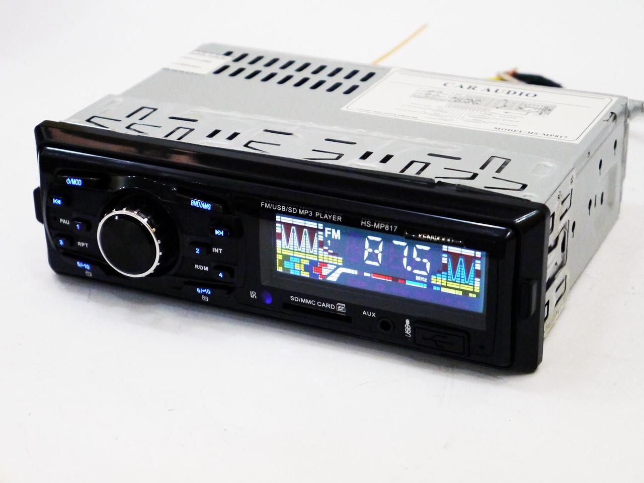 Автомагнитола Kenwood HS-MP817 - MP3 Player+FM+USB+SD+AUX