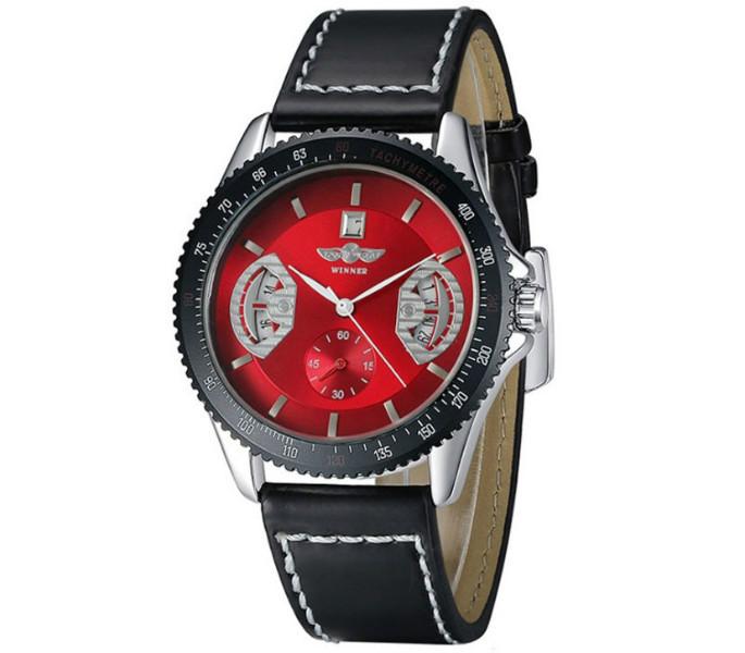 Картинки по запросу Мужские часы механические WINNER RED