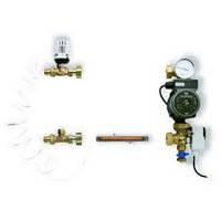 Готовый к монтажу модуль FWR для регулирования теплого пола мощностью до 10 кВт