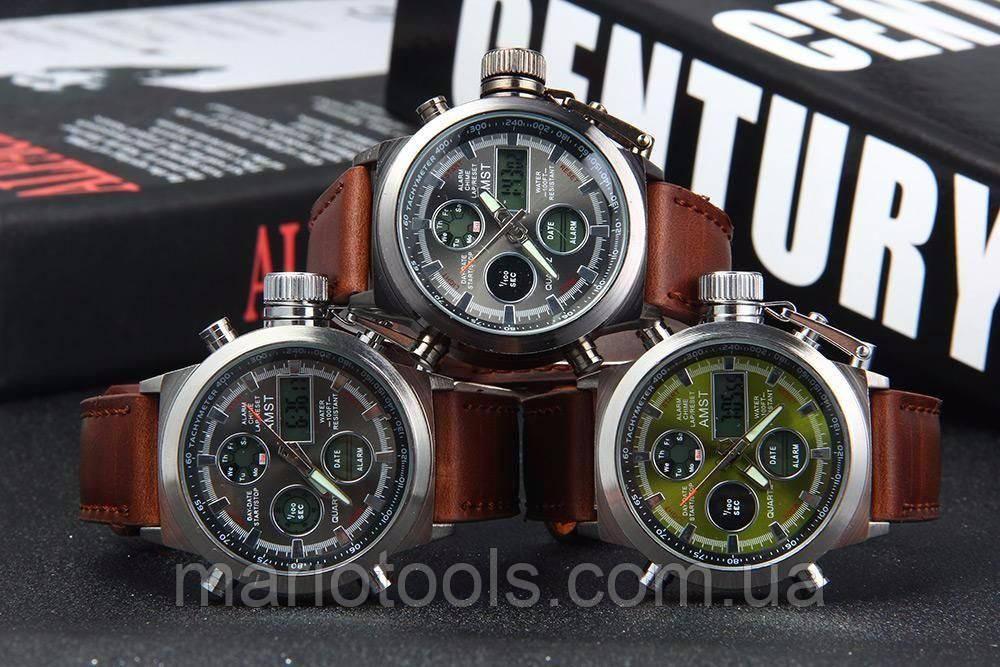 9f0b6e0b3173 Армейские часы Amst (Амст) Оригинальные, Неубиваемые Водонепроницаемые -  Bigl.ua
