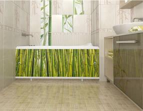 Екран панель під ванну МетаКам Ультралегкий Арт дводверний 170x60