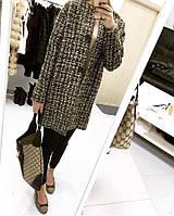 Пальто женское , ткань -(букле-шанель)+подкладка , цвет только такой ,хорошее качество естил №616