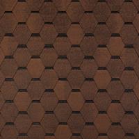 Битумная черепица Tegola Топ-Шингл Smalto коричневый