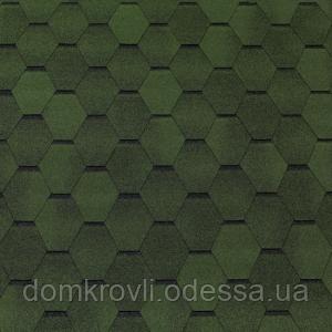 Битумная черепица Tegola Топ-Шингл Smalto зеленый