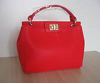 Брендовая сумка Fendi красная.