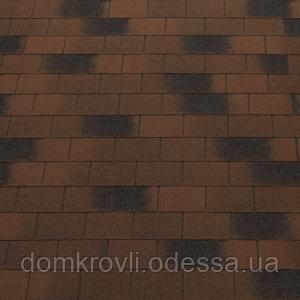 Бітумна черепиця Tegola Топ-Шингл Vintage коричневий