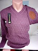Мужской свитер молодежный вязанный 46-50рр
