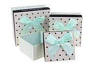 """Коробочки для подарков """"Горох"""" 11,5х11,5х7см"""