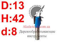 D13 H42 d8 прямая пазовая фреза Karnasch