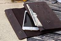 "Чоловічий портмоне гаманець клатч кожаный мужской кошелек ""Сomplex"" ручної роботи, натуральна шкіра  , фото 1"