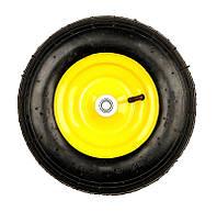 Колесо пневмо 3,5х6 к тачке BudMonster арт. 01-001 модель 01-018 (9064)