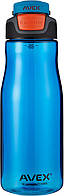 Спортивная бутылка AVEX 950 ml/32oz с автоматическим носик для питья (синий)