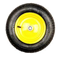Колесо пневмо 3,5х8 к тачке BudMonster арт. 01-003 (15325 / 01-016)