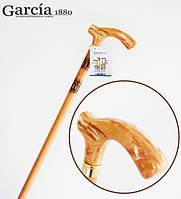 Трость Garcia Prima 140 древесина бука, удобная метакриловая рукоять
