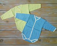 Боди для новорожденных, ткань байка