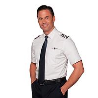 Рубашка пилота, форменная мужская