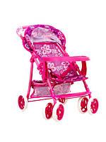 Летняя коляска melogo 9304Вw-t для кукол с корзинкой стол для бутылочки в коробке 55*34*55.5см