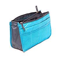 Органайзер для сумочки, блакитний / Органайзер для сумочки, голубой.