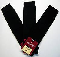 Высокие хлопковые носки-гольфы для мужчин черного цвета