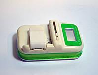 Универсальная зарядка с LED экраном (жабка)