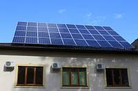 Сетевая СЭС под зеленый тариф 15 кВт трехфазная (поликристаллические панели)