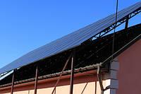 Сетевая СЭС под зеленый тариф 10 кВт трехфазная (монокристаллические панели)