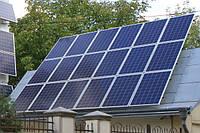 Сетевая СЭС под зеленый тариф 10 кВт трехфазная (поликристаллические панели)