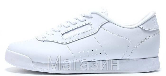 cdb7815f6b0f Мужские Кроссовки Reebok Classic White (Рибок Классик) в Стиле Белые ...