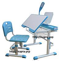 Детский стол и стул растущие + полка и лампа (2 цвета), фото 1
