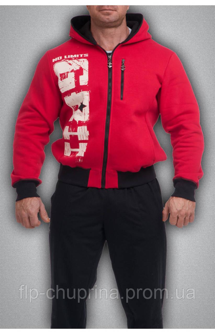 Мужская толстовка красная