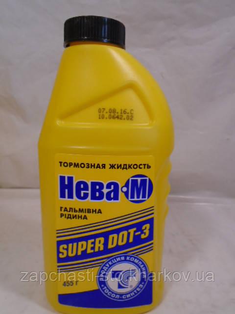 Тормозная жидкость Нева М DOT 3 455г