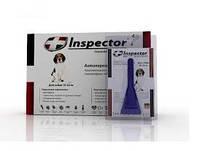 Inspector (Инспектор) 1 пипетка для собак 10-25 кг - от наружных и внутренних паразитов