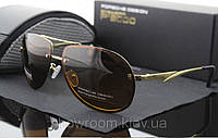 Солнцезащитные очки Porsche Design c поляризацией (p-8501) коричневая оправа