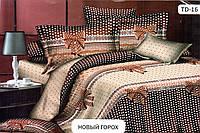 """Комплект постельного белья с европростынёй 2-х спал. """"Новый горох"""" (нсбязь)"""