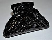 Глянцевые черные Крабы для волос (12 шт), фото 1