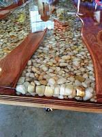 Элитный заливной стол №3