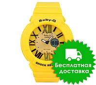 Спортивные часы Casio Baby-G BGA-160 Yellow