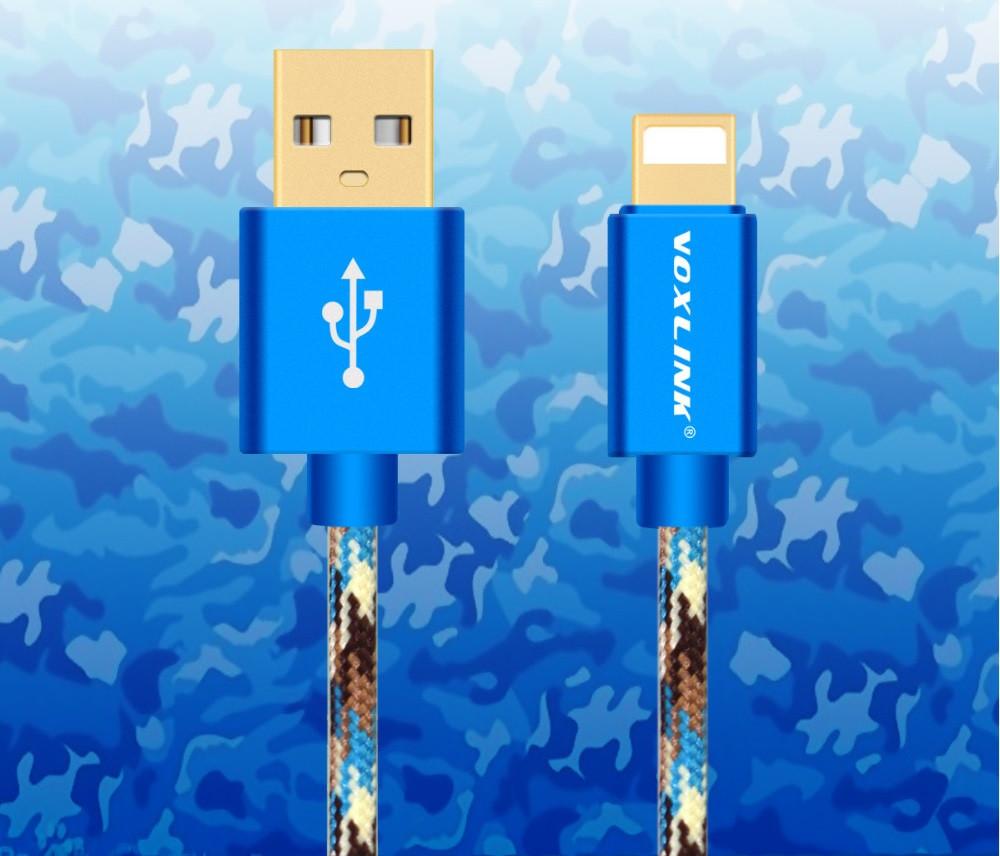Кабель питания  с ПК Micro Usb  VOXLINK