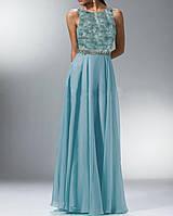 DL-58198 Женственное вечернее платье  А-силуэта
